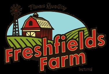 A theme logo of Freshfields Farm